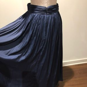J.Crew Navy Maxi Skirt!